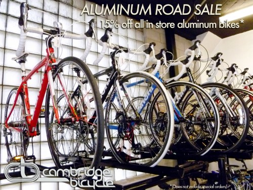 Road bicycle sale 2011 flyer