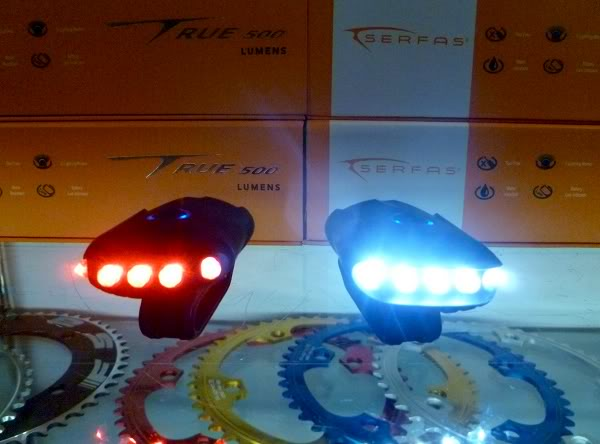 Serfas USB Raider lights