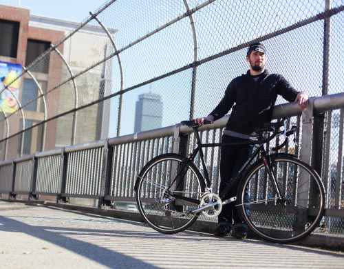 Morgan Saila Custom Matte Black SugarCoat cross bicycle