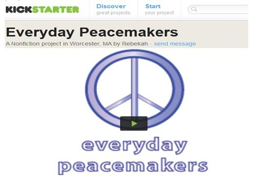 Becca everyday peacemakers kickstarter