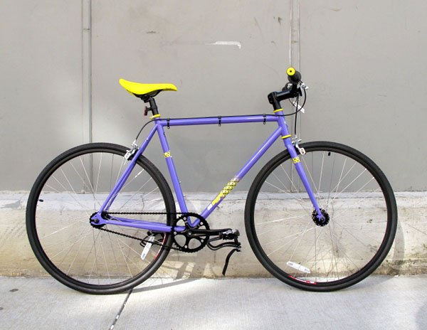 2011 SE Draft Lite purple bicycle