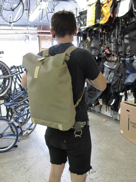 2013 Brooks Pickwick Backpack