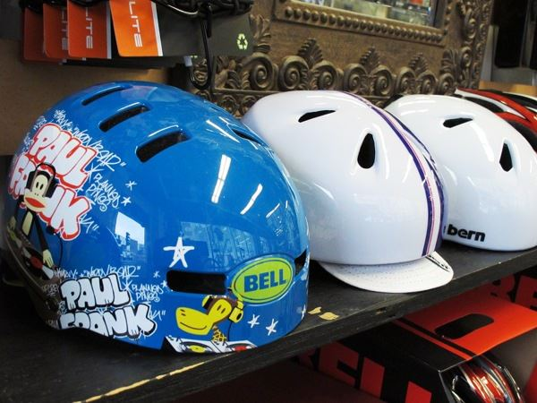 Bell Fraction Bern Nina kids helmets