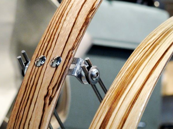 Wood bicycle fender