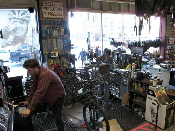 bike repair area