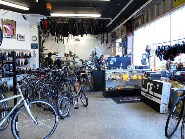 Boston bike shop renovations