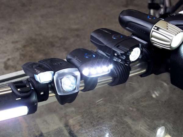 Serfas USB winter bicycle headlights