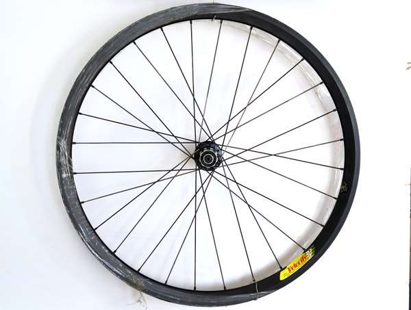 Velocity Deep V 650c rear wheel