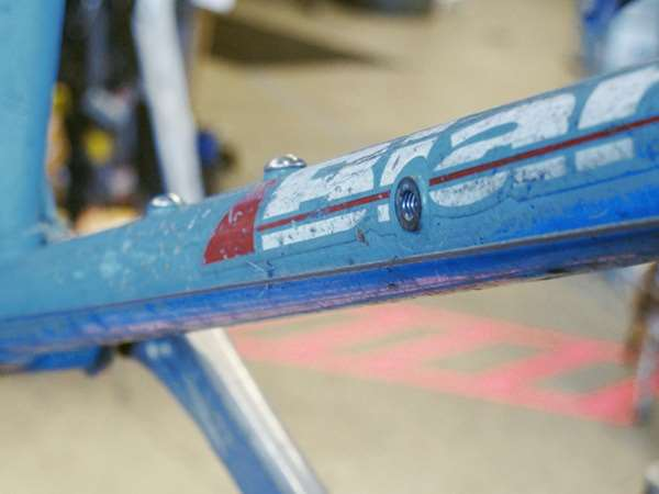 Vintage Bianchi Volpe downtube
