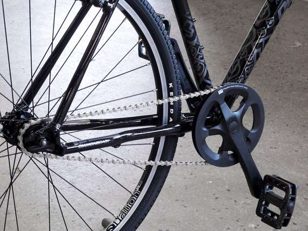 2013 Diamondback Insight STI-1 single speed drivetrain