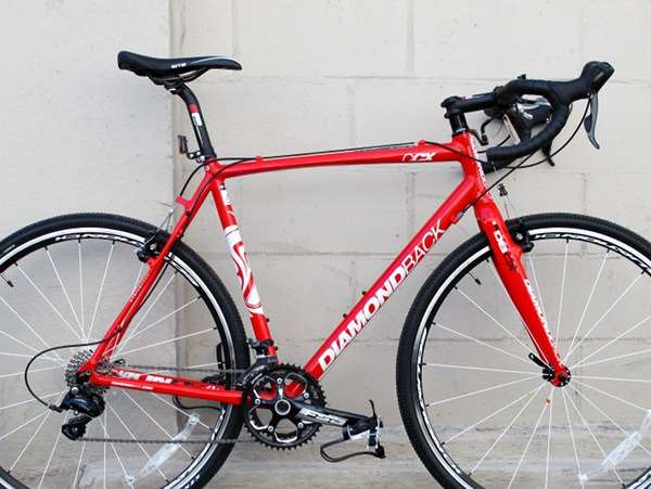 2013 Diamondback Steilacoom CCX BB30 aluminum carbon cyclocross bicycle