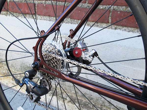 2013 Raleigh Roper steel cyclocross disc brakes BB30 Shimano 105
