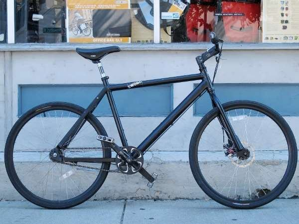 Used Swobo 3-speed disc commuter bike