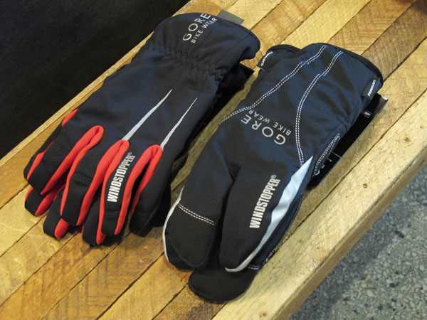 Gore bike wear Countdown Road Windstopper Lobster Claw Glove
