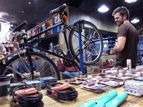 Winter Commuting Clinic at Cambridge Bicycle