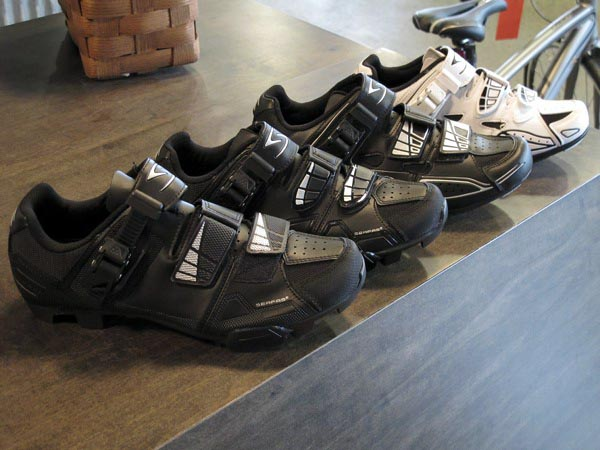 Serfas Astro and Podium clipless shoes road mountain men's women's