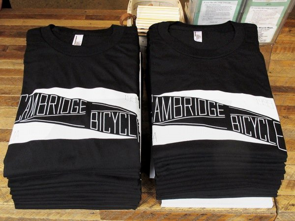 cambridge bicycle bike shop t-shirt