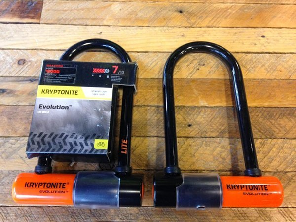 kryptonite evolution 5 mini 6 lite bicycle u Lock