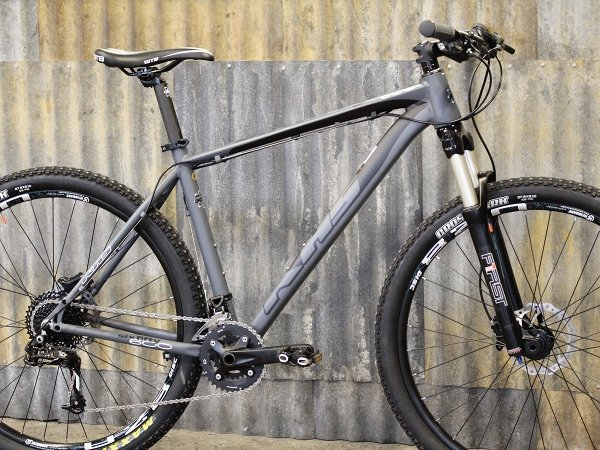 2015 khs sixfifty 600 27.5 650b hardtail mountain bike sram 2x10
