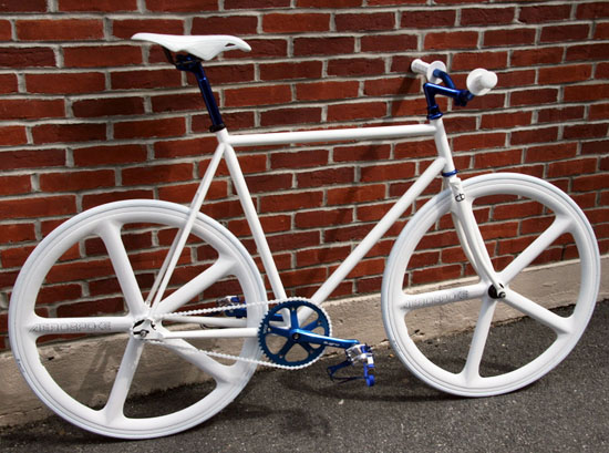 Ghost custom bicycle
