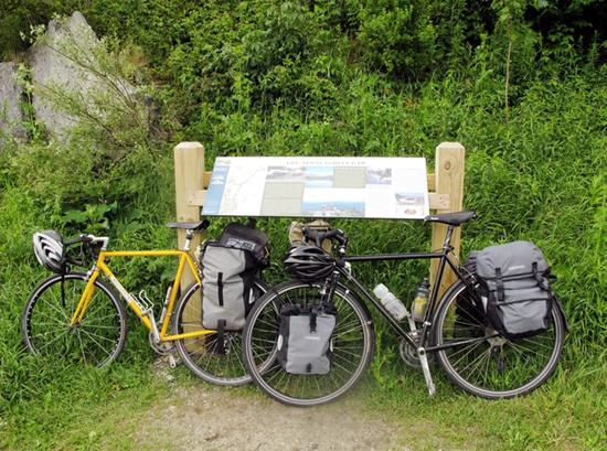 Appalachian Gap Vermont bicycle tour
