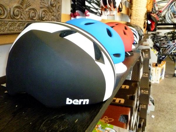 Bern bicycle helmets