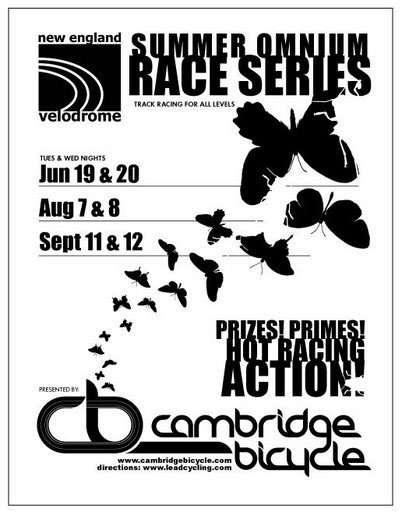 Summer Omnium Track Racing Series