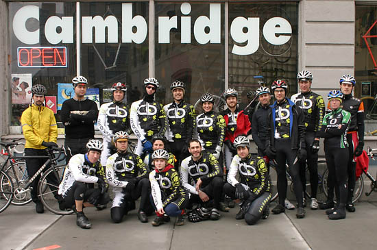 Cambridge Bicycle Road Team Readies for the Races