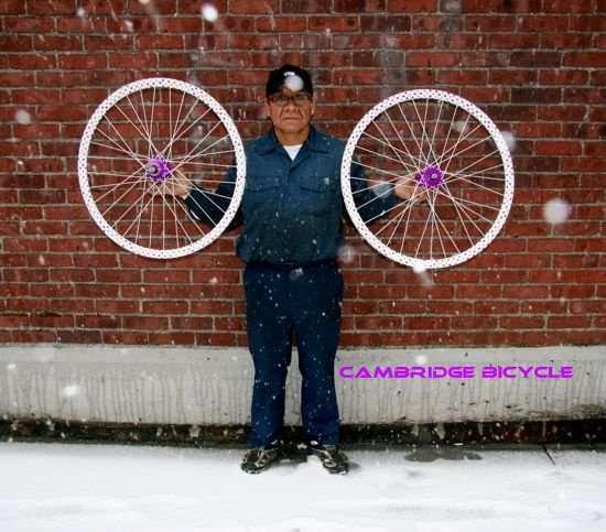 Cambridge Bicycle Custom Phil Wood/DT Swiss/Velocity Wheelset