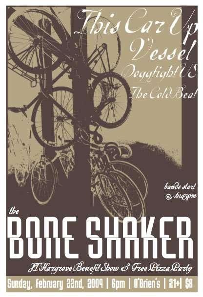 Boneshaker Benefit Show!!!