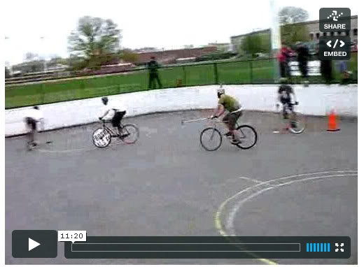 ESPI Bike Polo Final Match Video