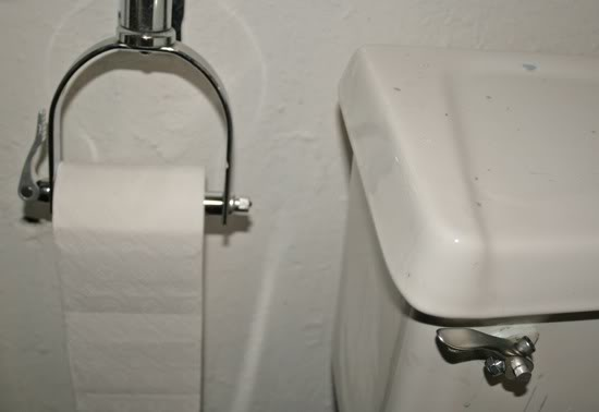 Bike Part Toilet Fix