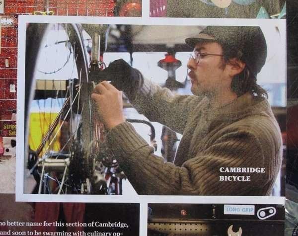 Cambridge Bicycle in the Improper Bostonian