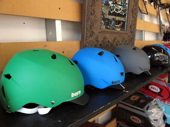 Bern bicycle helmets 2011