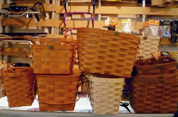 Peterboro New Hampshire bicycle baskets 2011