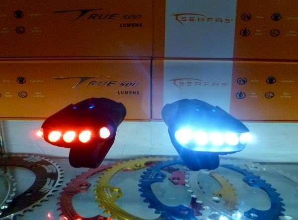 Serfas USB Raider lights
