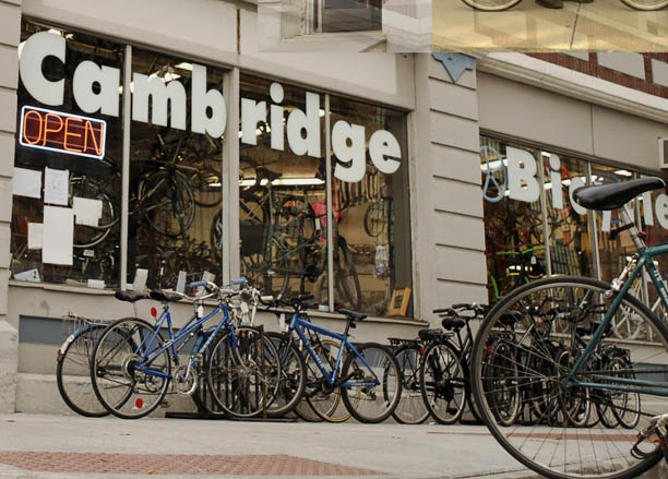 Cambridge Bicycle store