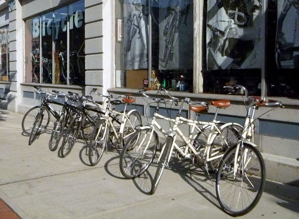 commuter bikes for rent Boston Cambridge