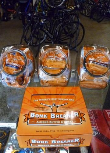 Bonk Breaker nutrition bars