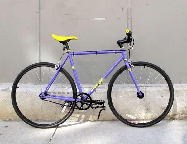 2011 SE Draft Lite purple bicycle