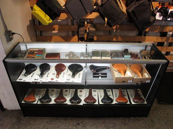 Brooks England saddles and accessories