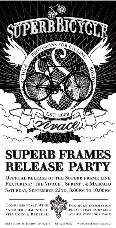 Official release of the Superb frame line.