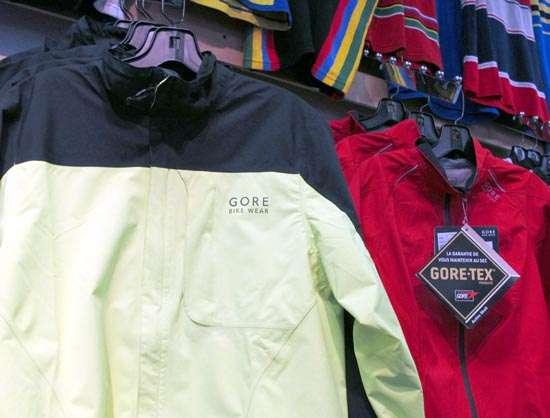 2013 Gore Bike Wear Paclite Countdown jackets for men and women