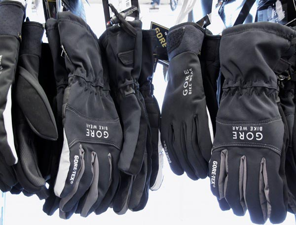 2013 Gore Bike Wear gloves with Goretex and Windstopper