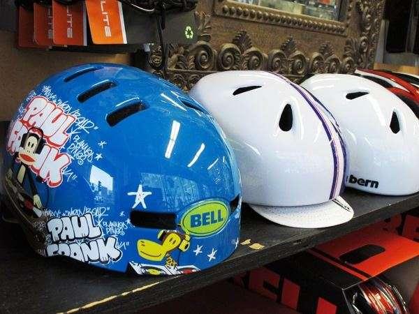 Bell Fraction Bern Nina kids helmets