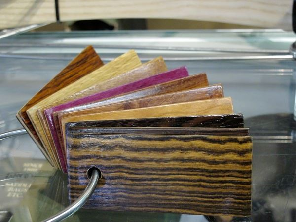 Full Wood bicycle fenders swatches