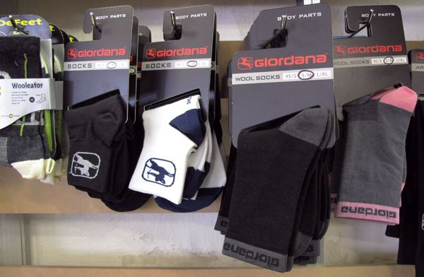 Giordana Merino wool and synthetic socks