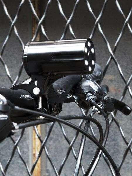 Gotham City bicycle light