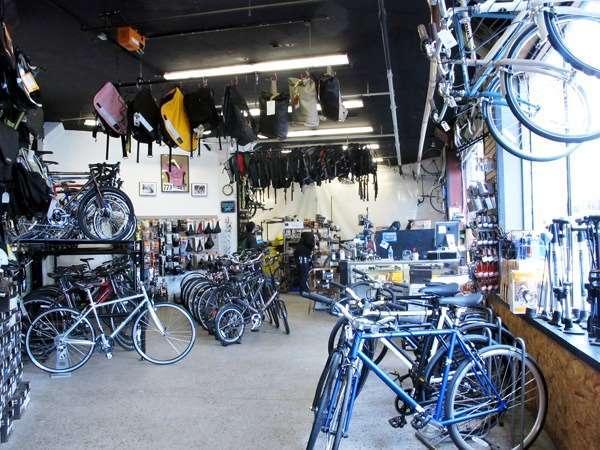 Boston bike shop renovations