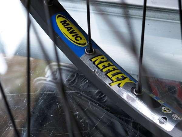 Mavic reflex track wheelset